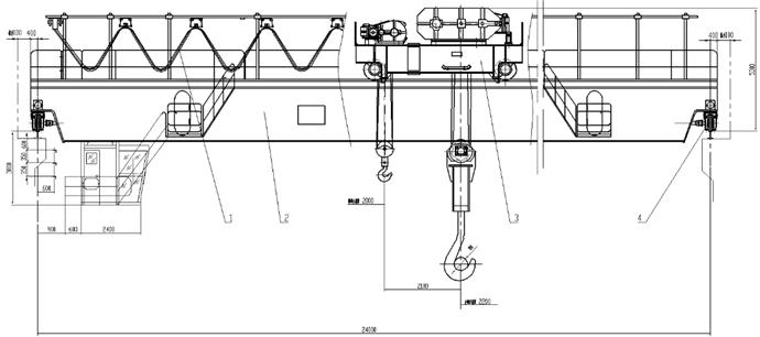 河南省矿山起重机有限公司-yz冶金起重机-双梁桥式